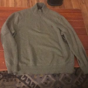 Olive green Ralph Lauren sweater